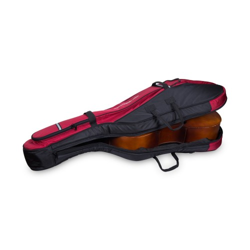 4/4 Cello Gig Bag with Padded Backpack Straps, Deluxe Series with 20mm padded in Black Grey, Black Blue, or Black Red