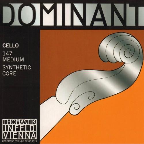 Thomastik Dominant 4/4 Cello String Set Medium Gauge