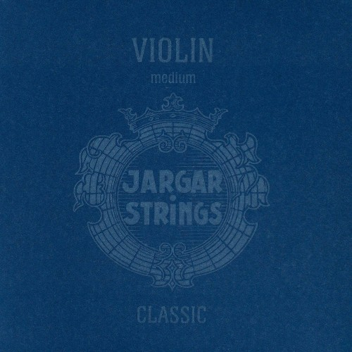 Jargar 4/4 Violin String Set Medium with Ball-End E