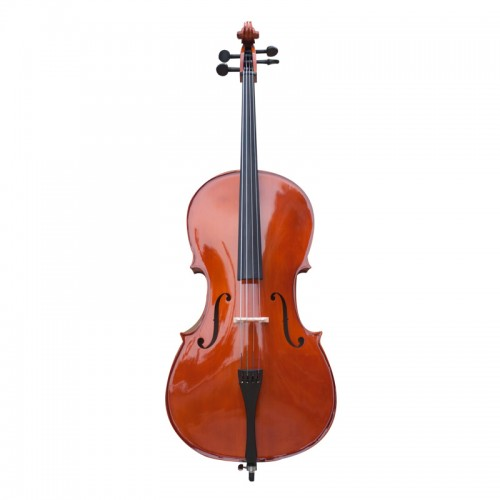 Student Cello 4 4 Full Size with Soft Case, Music Sheet Stand, Rosin and Bow