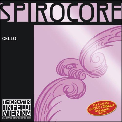 Thomastik Infeld Spirocore Chrome Cello Strings