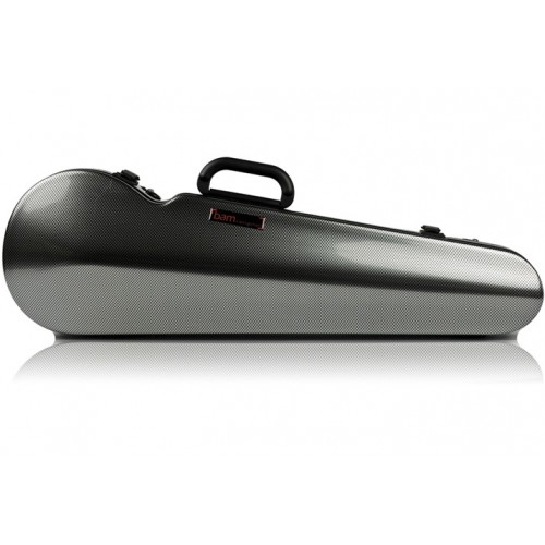 Bam Contoured (Shaped) Hightech Violin Case Blue