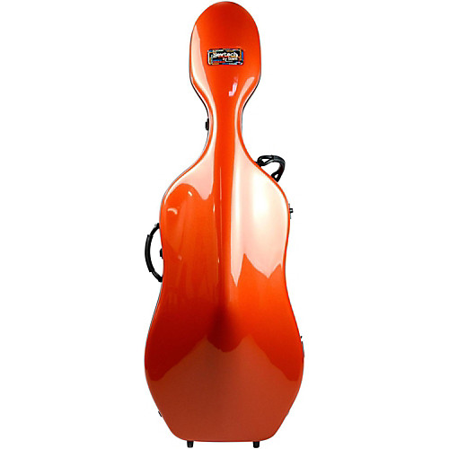 Bam 1002NW Newtech Cello Case with Wheels Terracotta