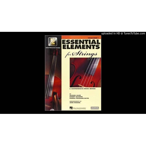 Essential Elements 2000 Book -Violin
